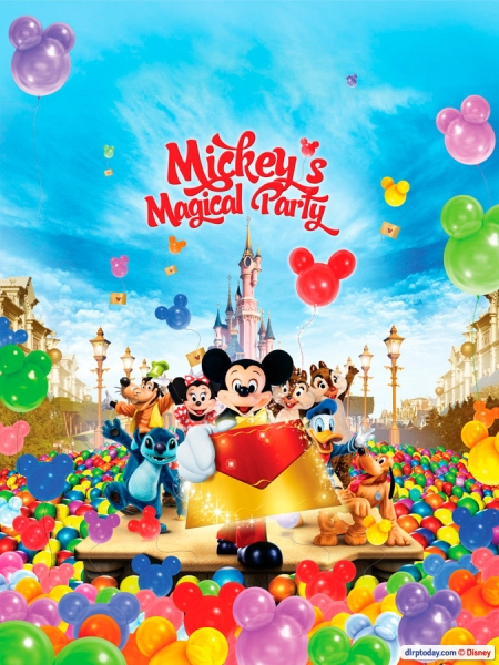 Mickey's Magical Party Poster