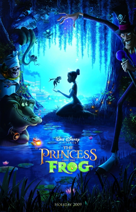 The Princess and The Frog Poster 1