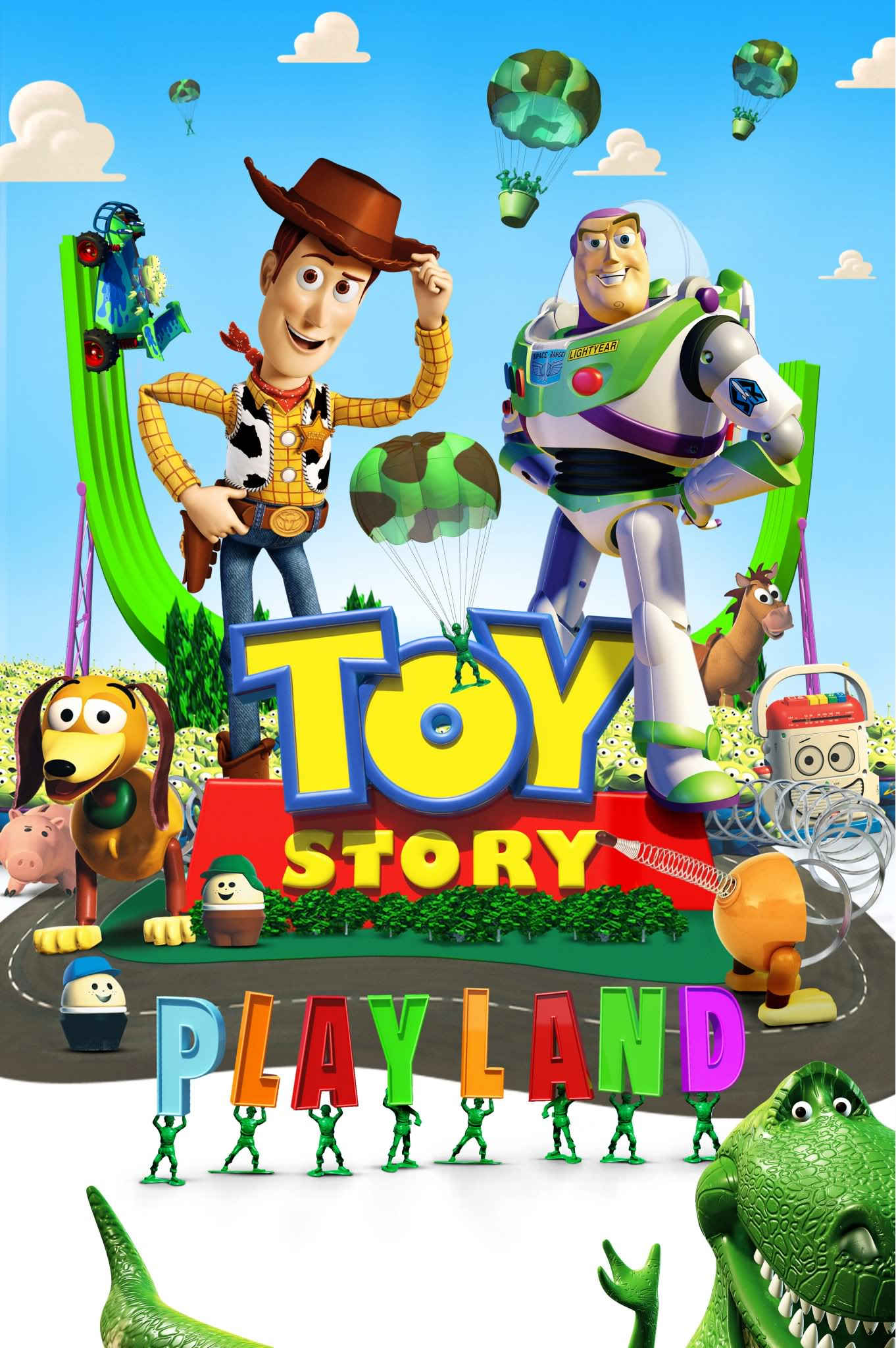 Toy Story Playland Poster 1