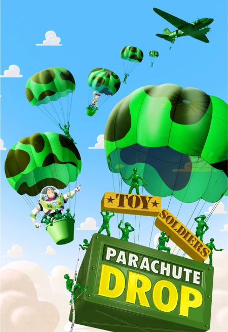 Parachute Drop Poster