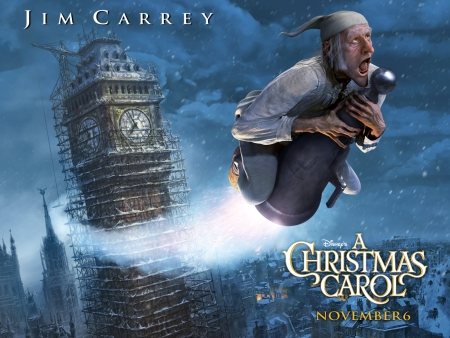 Disney's A Christmas Carol Poster 1