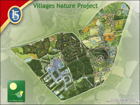 Les Villages Nature Map