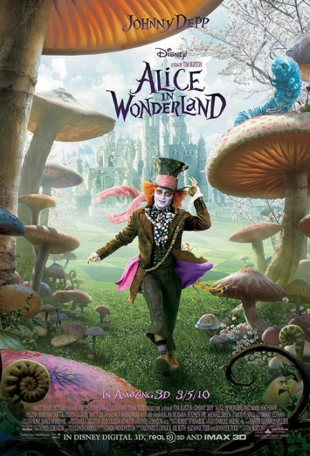 Disney's Alice in Wonderland Poster 1