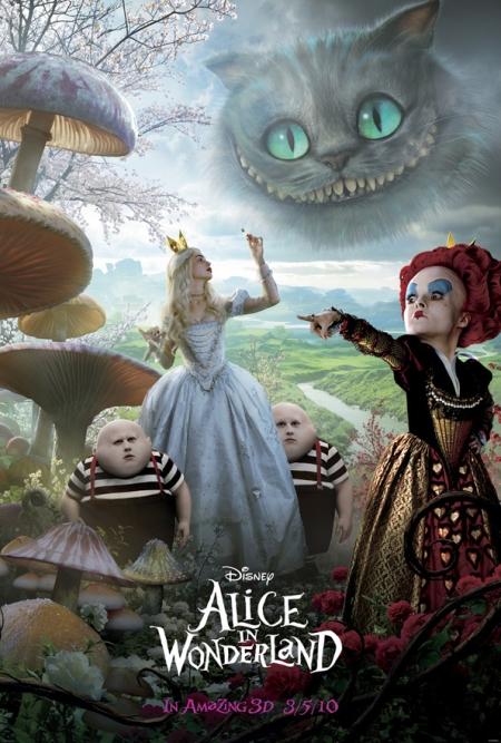 Disney's Alice in Wonderland Poster 2