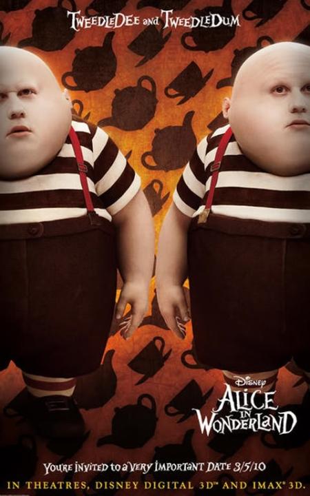 Disney's Alice in Wonderland - TweedleDee & TweedleDum