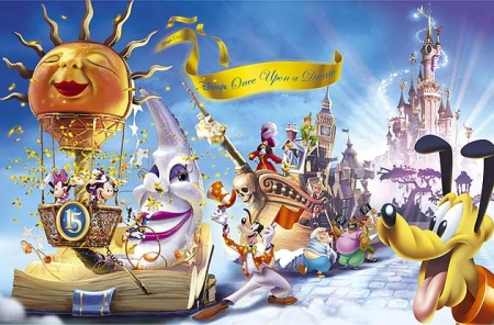 Disney's Once Upon A Dream Parade 2