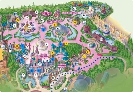 Plattegrond Fantasyland