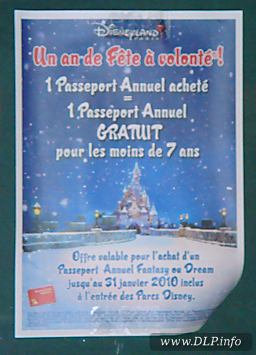 Annual Passport - Promotie Januari 2010