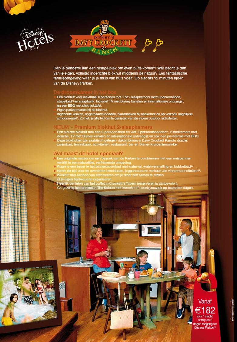 disneys davy crockett ranch brochure zomer 2010