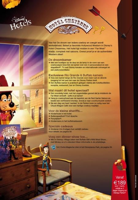 Disney's Hotel Cheyenne (Brochure Zomer 2010)