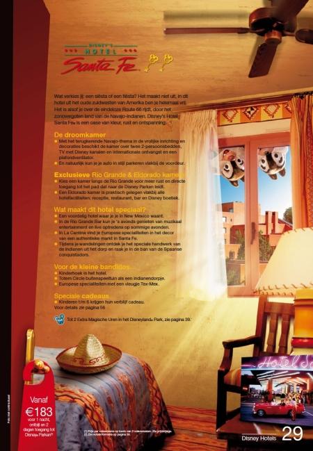 Disney's Hotel Santa Fe (Brochure Zomer 2010)