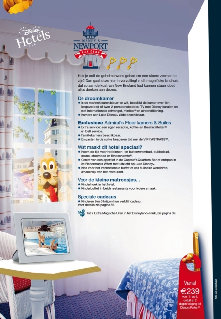 Disney's Newport Bay Club (Brochure Zomer 2010)