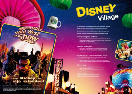 Disney Village (Brochure Zomer 2010)