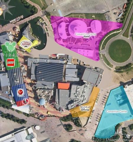 Uitbreiding Disney Village (Disneytheque)