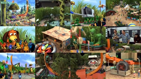 Toy Story Playland video captures