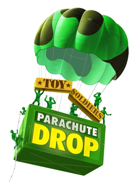 Toy Soldiers Parachute Drop Logo