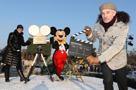 Baz Luhrmann in het Disneyland Park