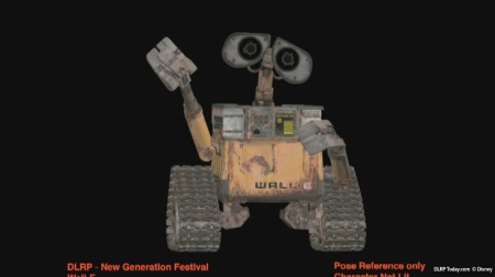 Disney All Stars Express concept art (WALL-E)