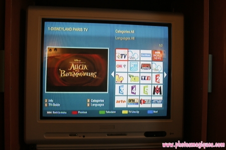Digitale TV in Disney's Hotel New York