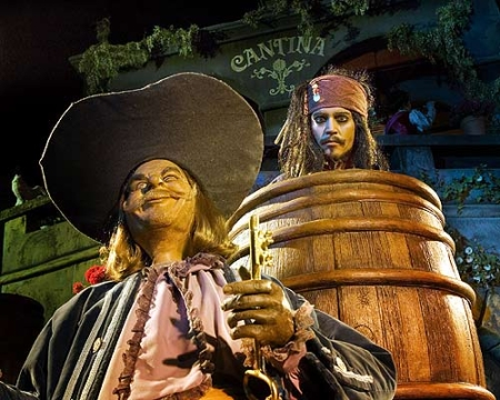 Jack Sparrow Audio-Animatronic