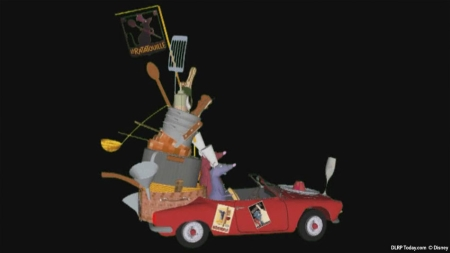 Ratatouille in Disney's Stars 'n' Cars (3D model)