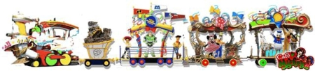Disney All Stars Express (concept art)
