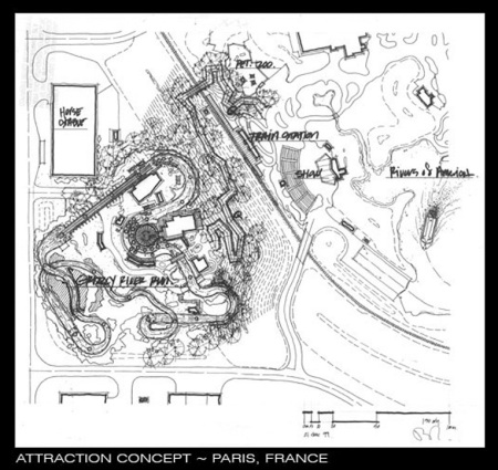 Grizzly River Run blueprint in Parijs