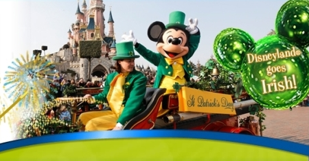 St Patrick's Day in Disneyland Parijs