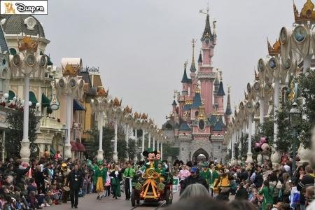 St Patrick's Day Pre-Parade in Disneyland Parijs