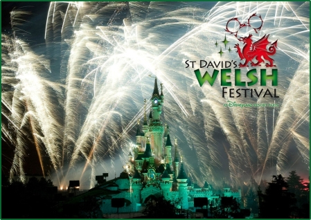 St David's Welsh Festival vuurwerkshow