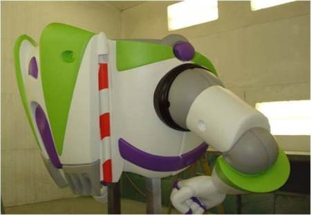 Toy Story Playland (buzz lightyear - general meeting)