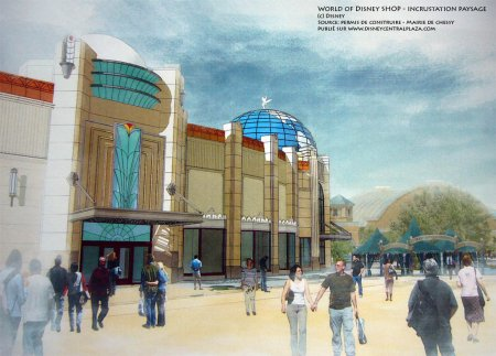 Word of Disney Store - concept art