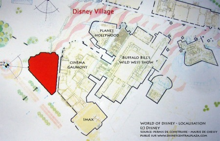Word of Disney Store - plattegrond