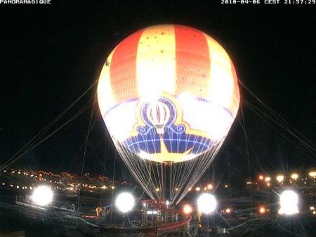 PanoraMagique (nieuwe ballon met externe verlichting)