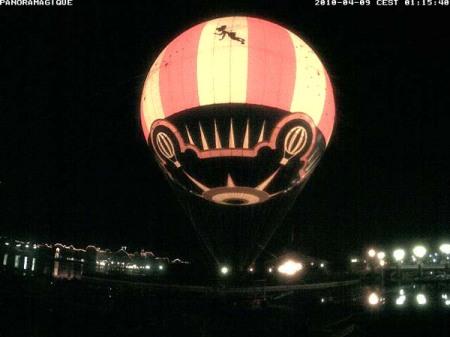 PanoraMagique (nieuwe ballon met interne verlichting)