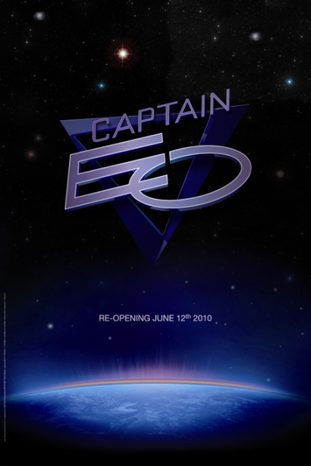 Captain EO poster