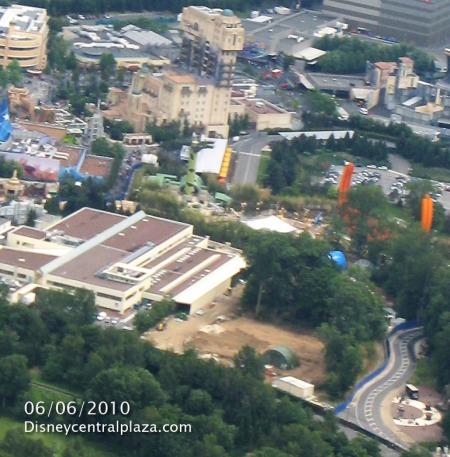 Grondwerkzaamheden Ratatouille in het Walt Disney Studios Park