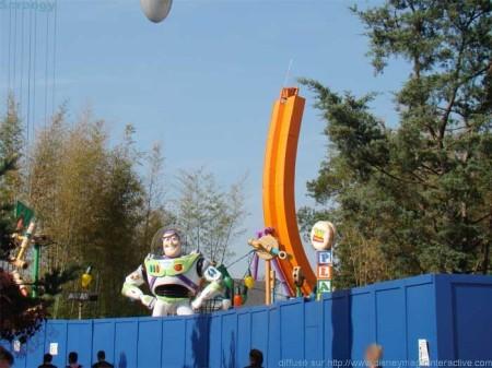 Ingang van Toy Story Playland