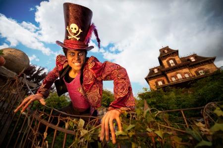 Dr. Facilier tijdens Disney's Halloween Festival 2010