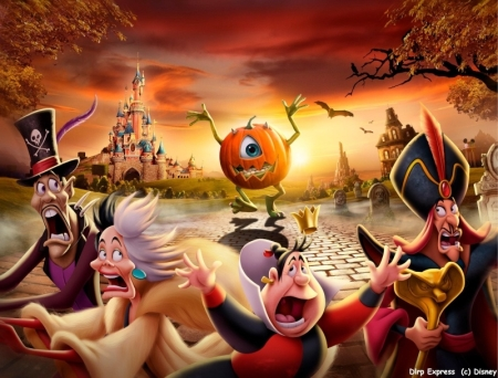 Disney's Halloween Festival 2010