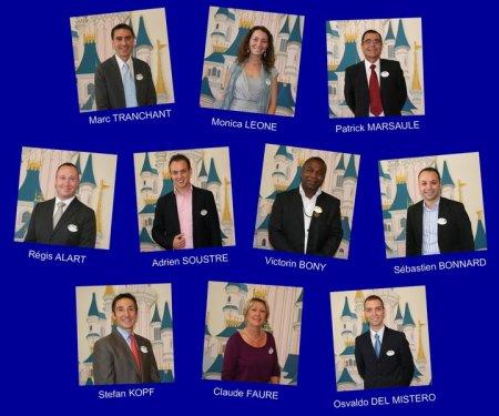Kandidaten voor Ambassadeur van Disneyland Paris 2011-2012