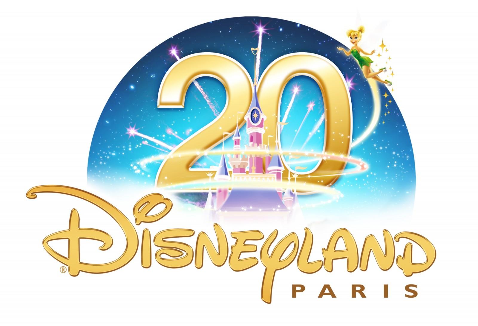 Eerste Logo S Voor De 20ste Verjaardag Van Disneyland Paris