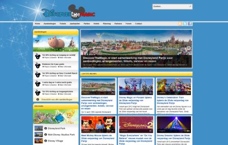 Bezoek DiscoverTheMagic.nl